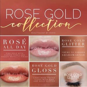 Rose Gold LipSense Collection💖